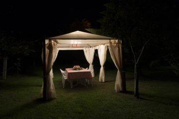 Noche en el jardín de La Labriega