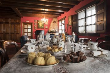 Casa rural con desayunos artesanos