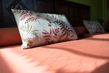 Vista de las camas de la habitación la Gaviella