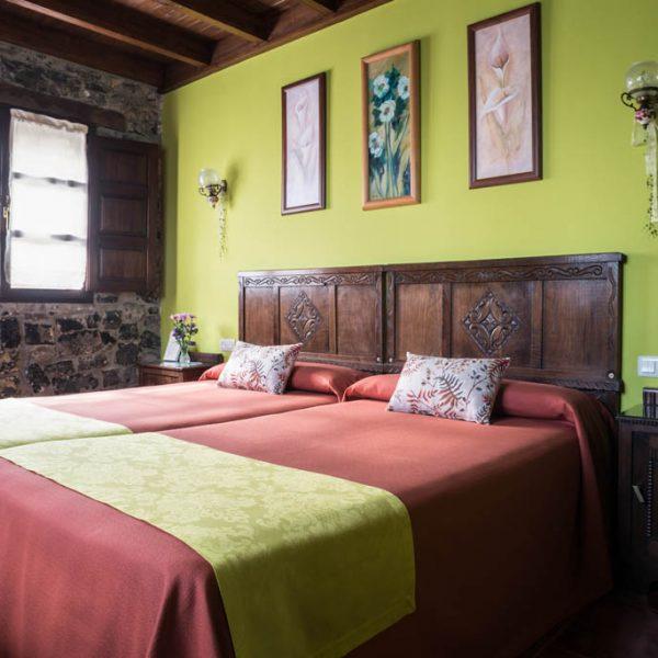 Vista La Gaviella, habitación de la casa de aldea en Villaviciosa
