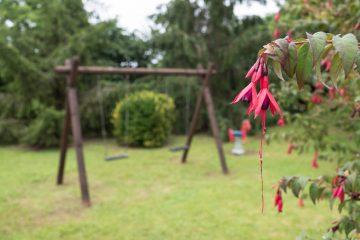 Contrastes de color en el jardín de La Labriega